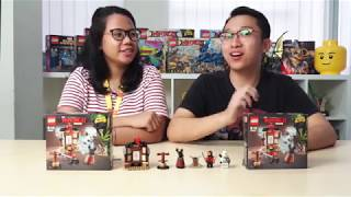 [LEGO Unboxing] The LEGO Ninjago Movie - Spinjitzu Training (70606)