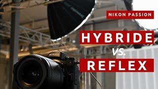 Hybride vs Reflex, différences, avantages, inconvénients