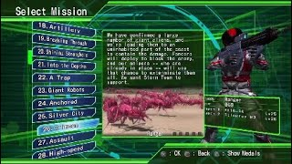 Earth Defense Force 4.1 PS4 Lets Play Part 7 Dont Fuck With The Infantry