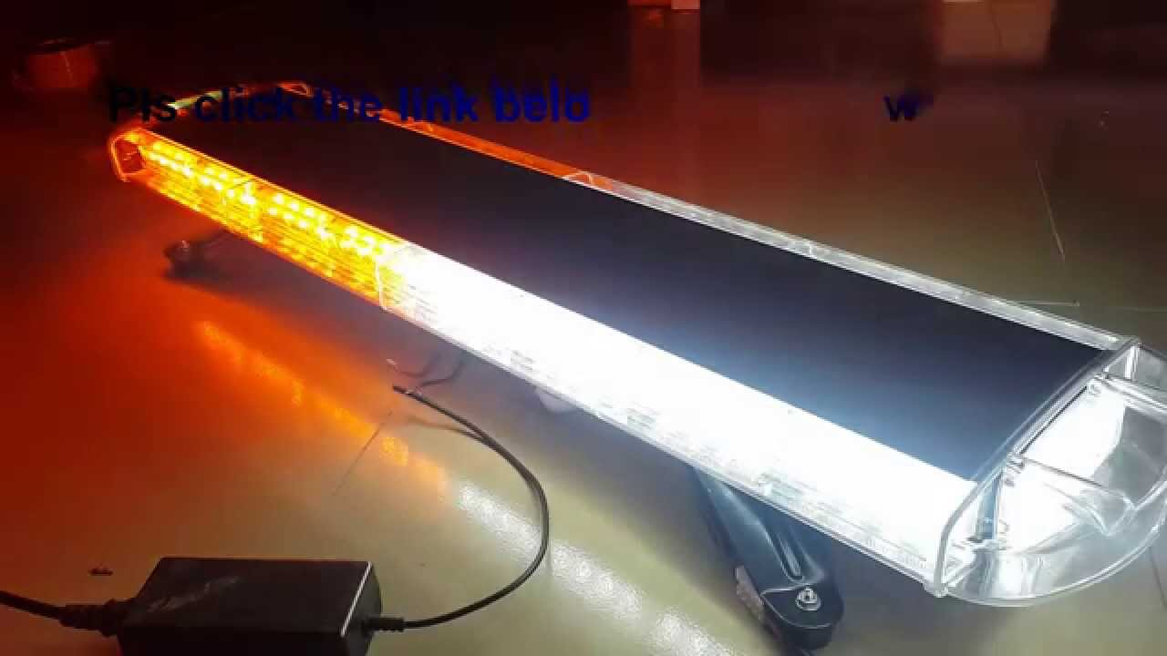 Amberwhite 72 led 72w car truck beacon work light bar emergency amberwhite 72 led 72w car truck beacon work light bar emergency strobe lights youtube aloadofball Image collections