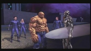 Fantastic 4: Rise of the silver surfer Final Boss + Game Ending XBOX 360