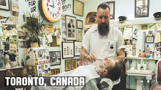 The Nite Owl Barber Shop, Toronto, Canada Wet Shave Experience