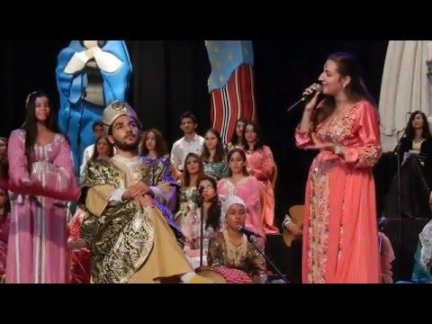 Musique Andalouse, Chorale Andalucia du Maroc/ Pr A. Essbai/ Andalussyat 2015/2