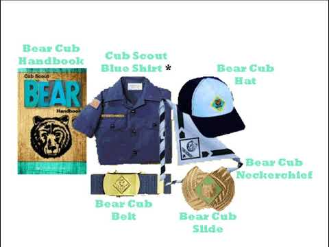 Cub Scout Uniforms and Book