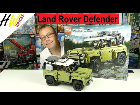 LEGO Land Rover Defender LEGO Technic 42110 Review