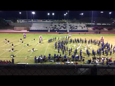 CATHEDRAL CITY HS ROYAL REGIMENT 11/03/17 @ CCHS SENIOR NIGHT