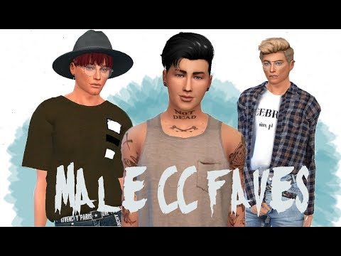The Sims 4: Male CC faves   More than 40 links! - YouTube
