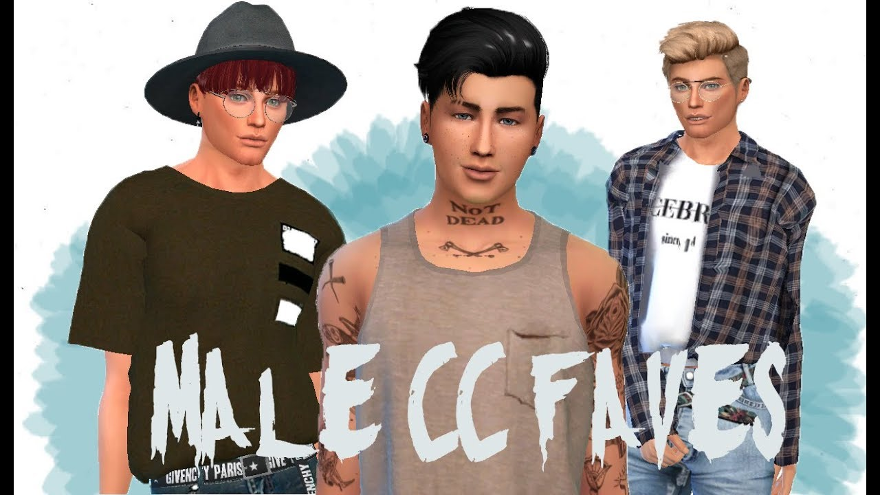 The Sims 4 Male Cc Faves More Than 40 Links Youtube