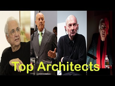 Top architects in the World