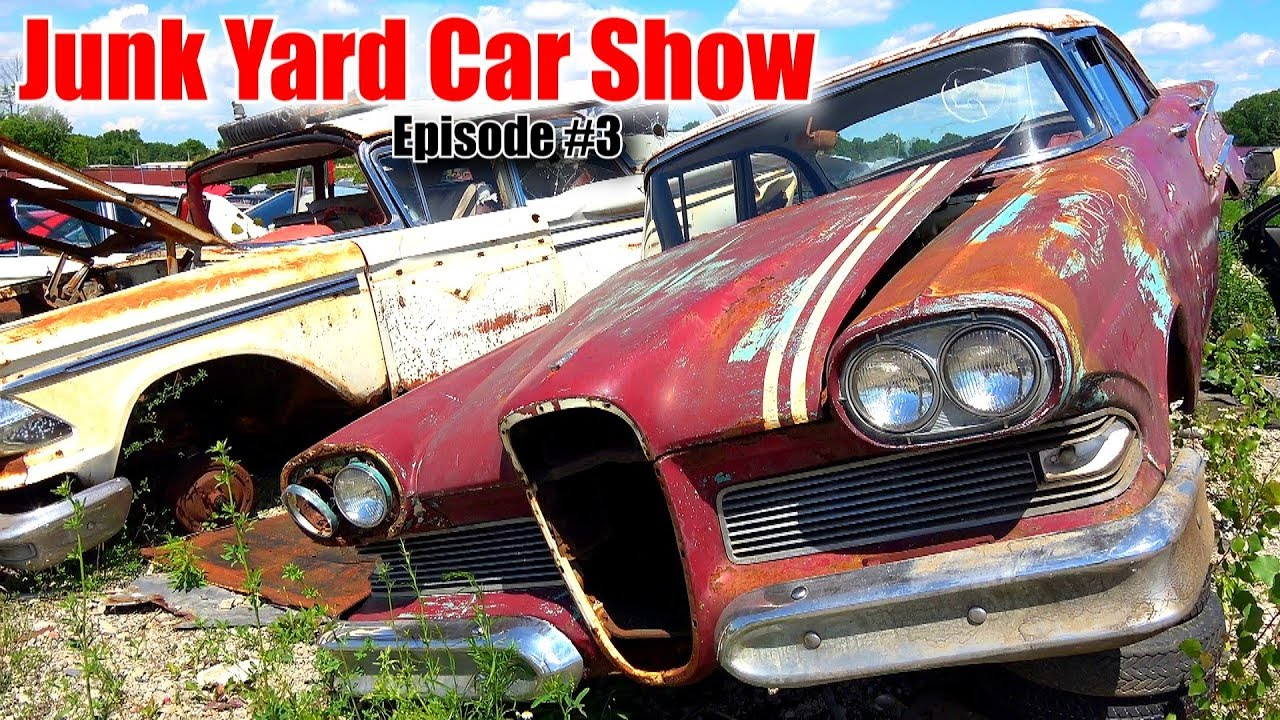 Junkyard Car Show: Episode 3 - YouTube
