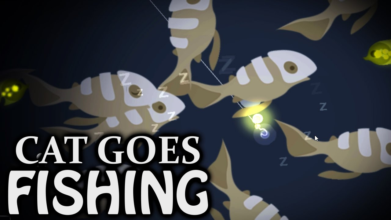 Bonefish boom cat goes fishing youtube for Cats go fishing