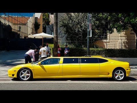 I Found a Ferrari Limousine in Hollywood