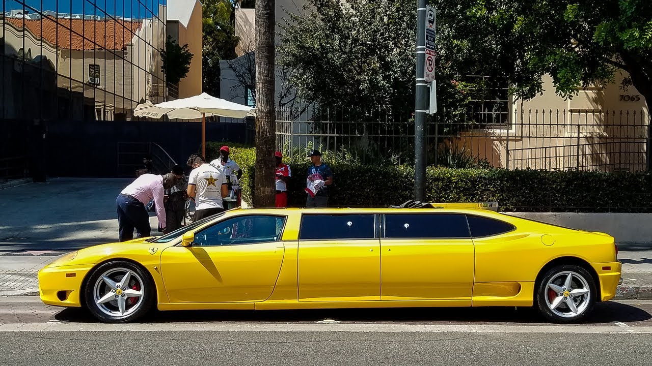 Wtf I Found A 400 000 Ferrari Limo Youtube