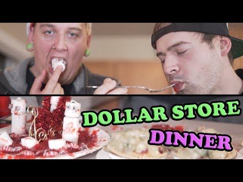 Dollar Store Christmas Dinner (ASMR)