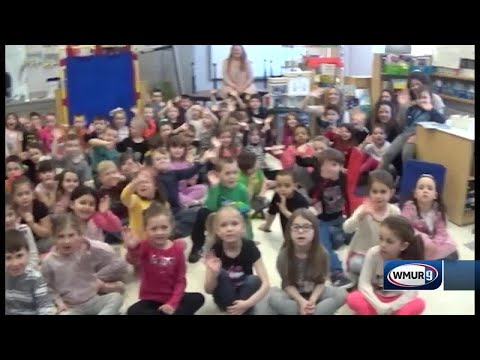 School visit: Lamprey River Elementary School in Raymond