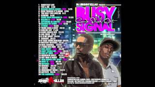 BUSY SIGNAL  TURF TAPE MIX CD COME SHOCK OUT 2013