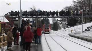 Heimenkirch hat wieder einen Bahnhalt