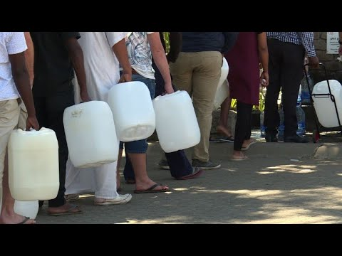 Vulnerable fear Cape Town drought water shut-off