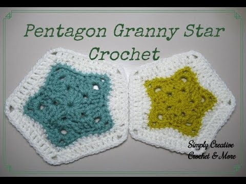 Crochet Perfect Star Pentagon Granny Star Youtube