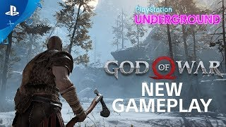 God of War - New Gameplay: Trolls, Exploration, and More | PS Underground