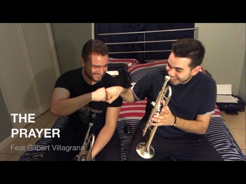 (Headphones) The Prayer - Trumpet Duet