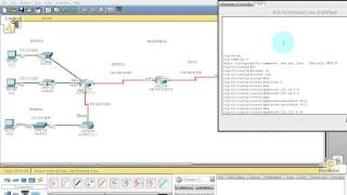 Packet tracer  Redistribute  Rip v2  - static