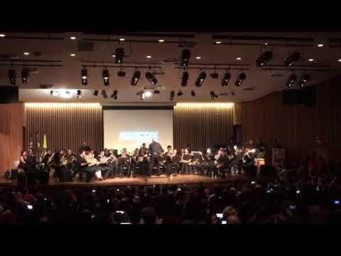 Star Wars Medley by Banda Marcial de Cubatão @ Jedicon SP 2017