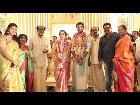 Rajinikanth's Daughter Soundarya Wedding Photos | Soundarya Marriage