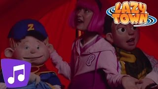 Lazy Town | The Spooky Song Music Video