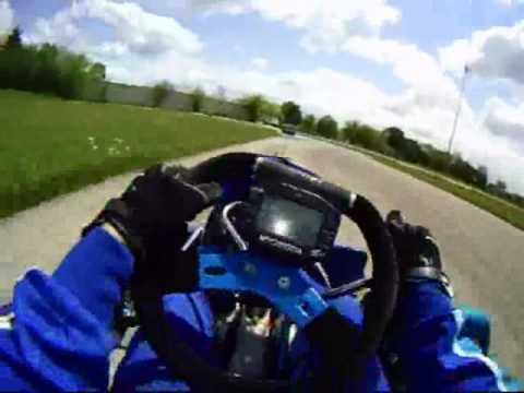 125cc Shifter Kart, Norway Illinois Track