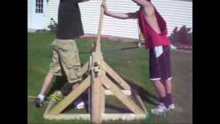 Tennis Ball Catapult