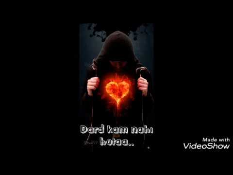 Silent Sad Song II Kya Karu Dard Kam Nahi Hota II Whatsapp Status Video