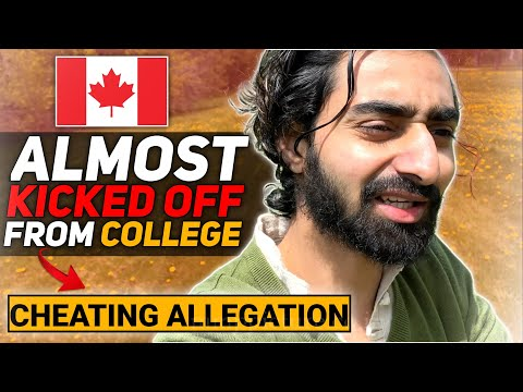ALMOST GOT KICKED OFF FROM COLLEGE || CHEATING ALLEGATION || INTERNATIONAL STUDENT IN CANADA