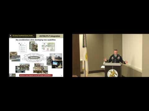 AUSA Army Platforms 2016 - LTG Michael D. Lundy