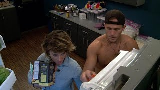 Big Brother  Sophisticated Cooking With Sam And Winston  Live Feed Highlight
