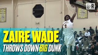Zaire Wade Leads American Heritage To BIG Win With Dwyane Wade Watching