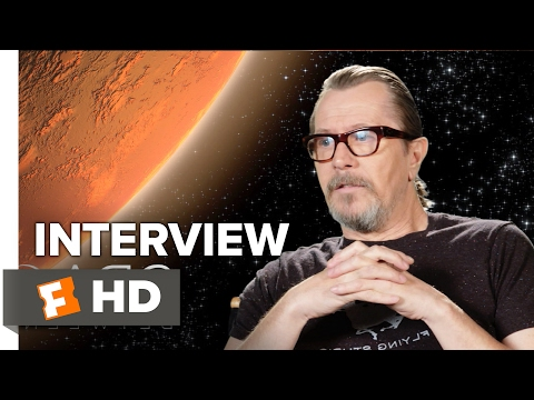 The Space Between Us Interview - Gary Oldman (2017) - Drama