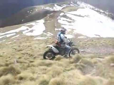 Husaberg FE450e Mod.2009 Prototyp in Action