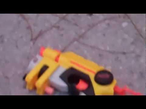 Nerf Nite Finder EX-3 target practice