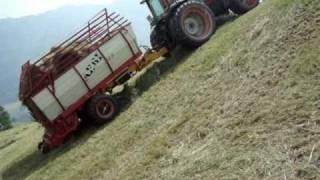 Landmaschinen Steer Drive Trailer mit Valtra