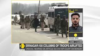 Massive crackdown on terror in J&K: 100 columns of troops airlifted