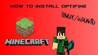 HOW TO INSTALL OPTIFINE [1.10] LINUX - UBUNTU