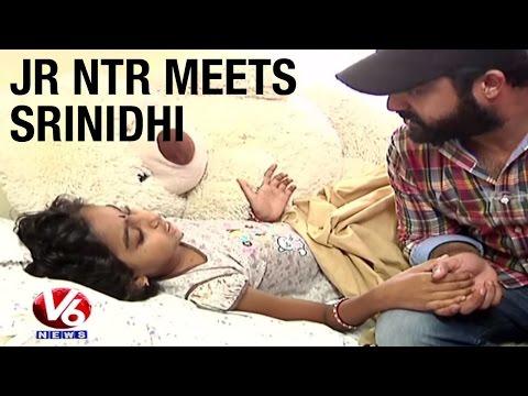 Jr NTR meets his ill fan Srinidhi | Make a...