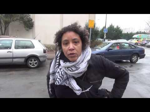 Expulsion des familles au gymnase 2 du grand parc à Bordeaux 02/02/2017 vidéos  2