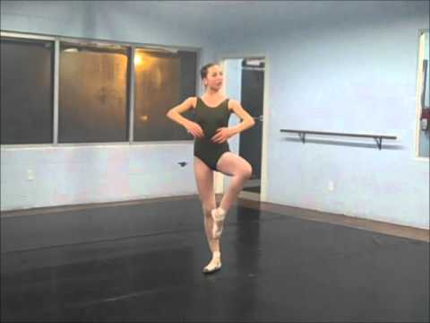 Savannah Roberts - Dance Audition Piece.wmv