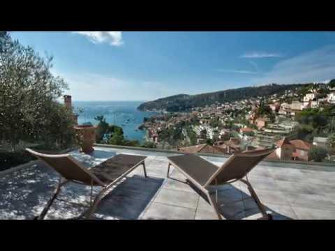 Villefranche-Sur-Mer 06230 - Vente Villa contemporaine avec vue Mer panoramique
