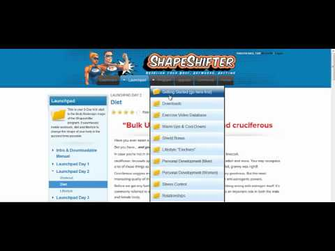 Shapeshifter Body Redesign Review - Weight Loss Training Program