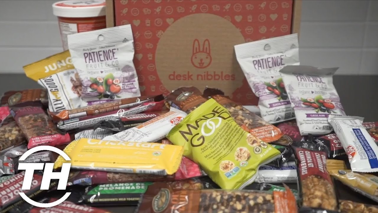 Desk Nibbles | Office Snack Delivery Services