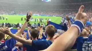 Despedida Islandia euro 16 vs Francia
