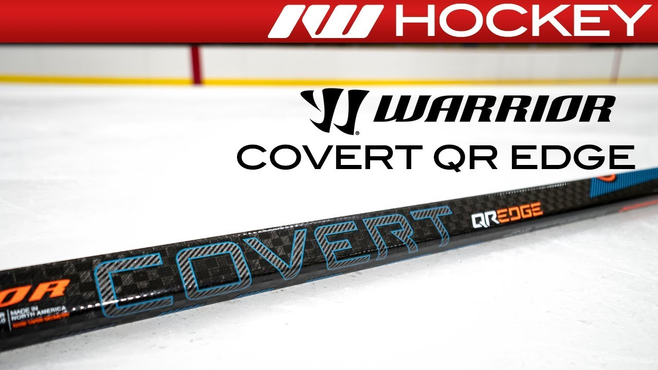b2e8fedc883 Warrior Covert QR Edge Stick    On-Ice Review - YouTube